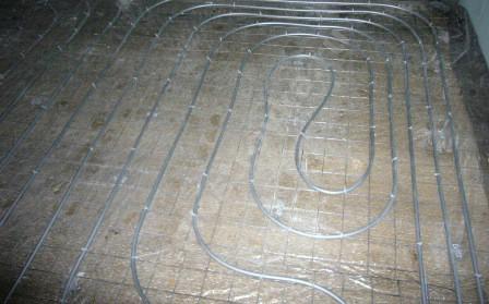 пластиковые трубы для напольного отопления