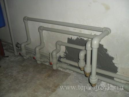 опрессовка труб отопления