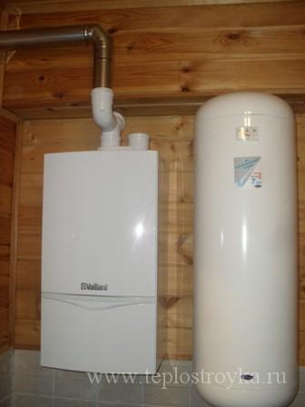 газовый котёл для отопления дома