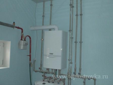 система газового отопления загородного дома