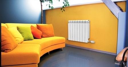 биметаллический радиатор фото