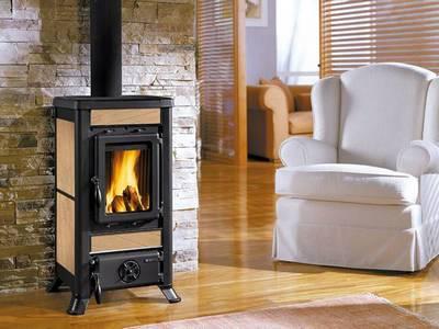 печка-камин для дачного дома фото