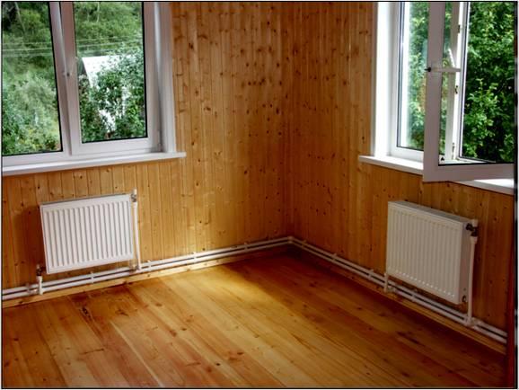 Отопление дачного дома — три варианта