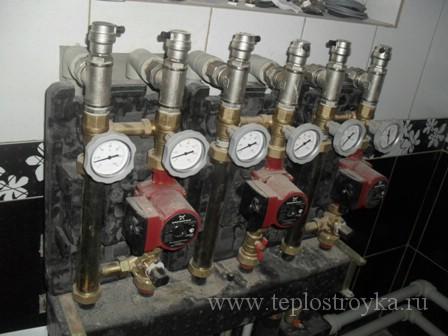 Как происходит опрессовка системы отопления