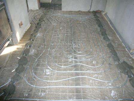 Тёплый пол для коттеджа и квартиры