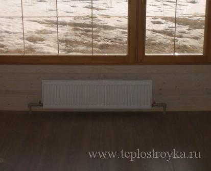 Однотрубная система отопления частного дома — Ленинградка