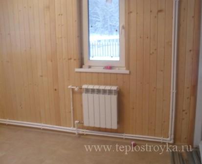 Как спрятать трубы отопления в стене