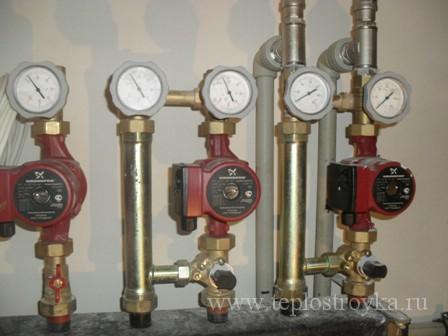 Циркуляционные насосы для отопления дома
