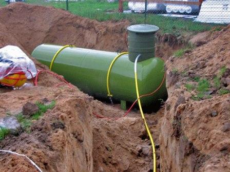 Автономная газификация с использованием газгольдера