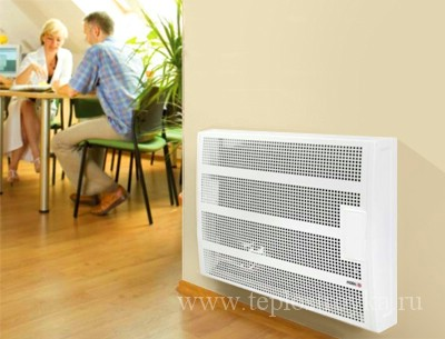 Отопление дома газовыми конвекторами