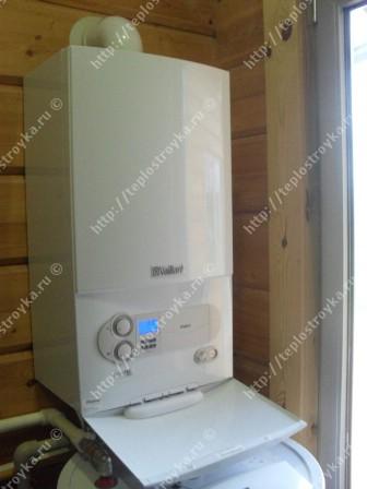 Газовое отопление коттеджа или дома
