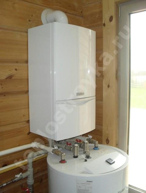 Система автономного отопления в загородном доме