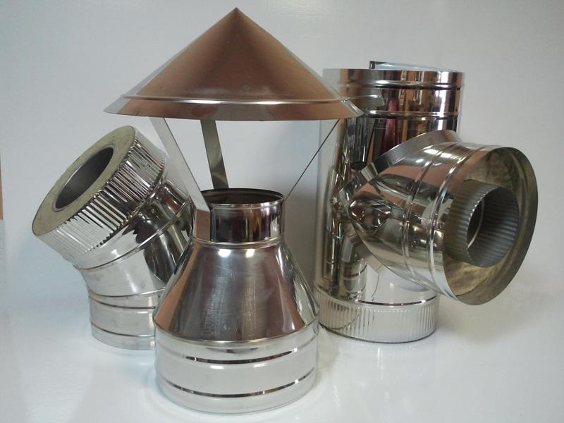 Дымоходы для банных печей