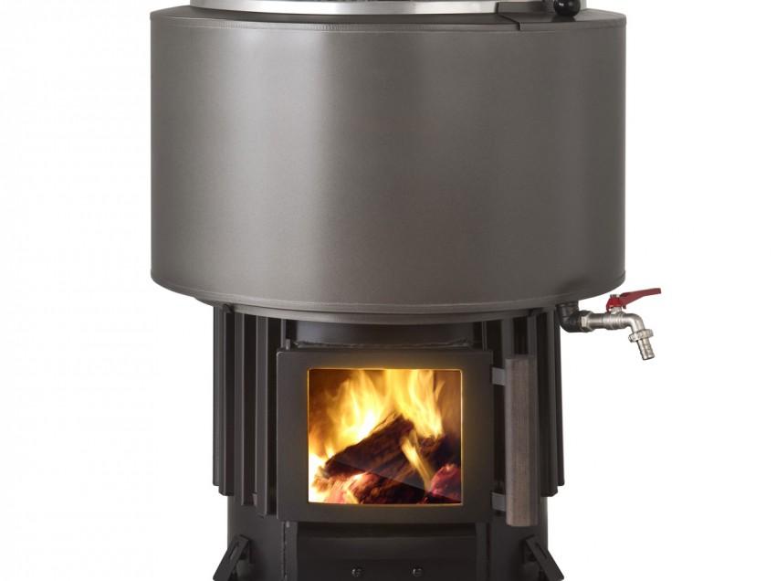 ТОП-6 печей для бани с баком для воды с отзывами